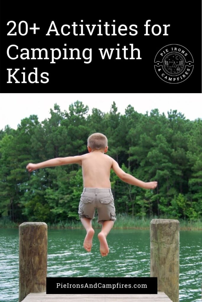 There's something so special about camping with kids. If you've never experienced a campout with your kids, you're in for a real treat. Today I'm sharing some of my favorite ideas and activities for camping with kids.