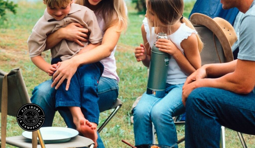 20+ Activities for Camping with Kids @ PieIronsAndCampfires.com