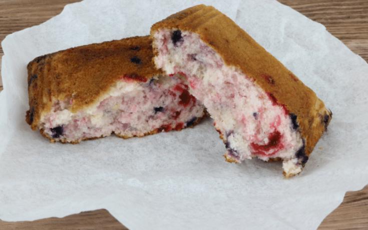 Berry Pie Iron Muffins @ PieIronsAndCampfires.com