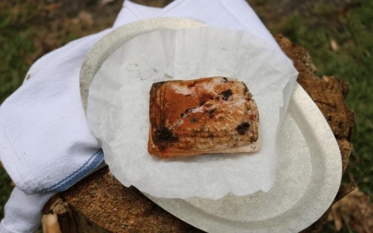 Berry Muffin Pie Iron Recipe | Easy Camping Recipe
