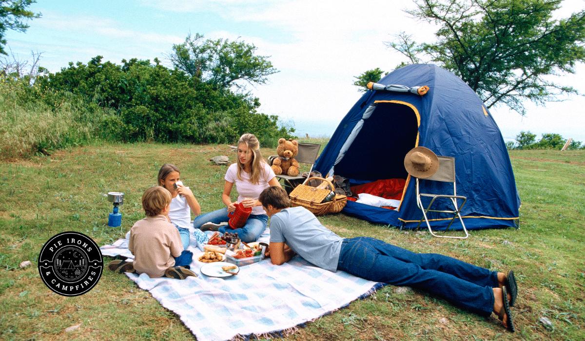 How to Prepare Kids for their First Camping Trip @ PieIronsAndCampfires.com