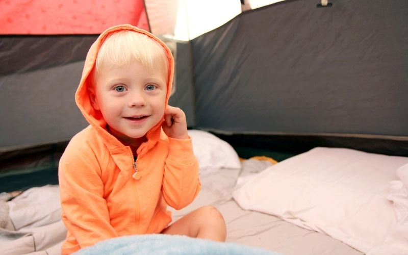 40+ Things to Bring When Camping with Toddlers @ Pie Irons and Campfires .com